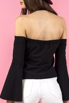 Ajoy Levora Halter Sleeve Top - Alternate List Image