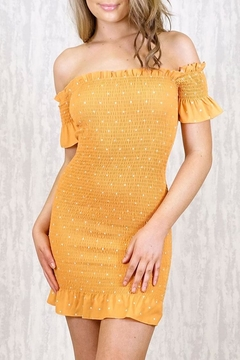 Shoptiques Product: Jordan Mustard Dress