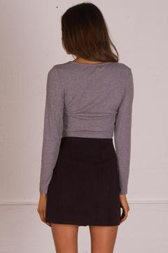 Shoptiques Product: Margo Suede Skirt