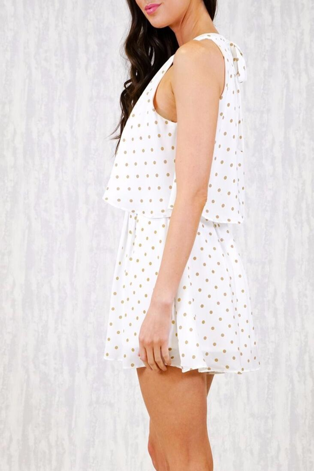 Ajoy Levora Nico Playsuit - Back Cropped Image