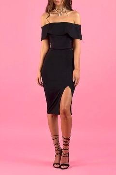Ajoy Levora Off Shoulder Dress - Product List Image