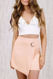 Ajoy Levora Peach Wrap Skirt - Product Mini Image