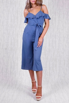 Shoptiques Product: Ruffle Jumpsuit