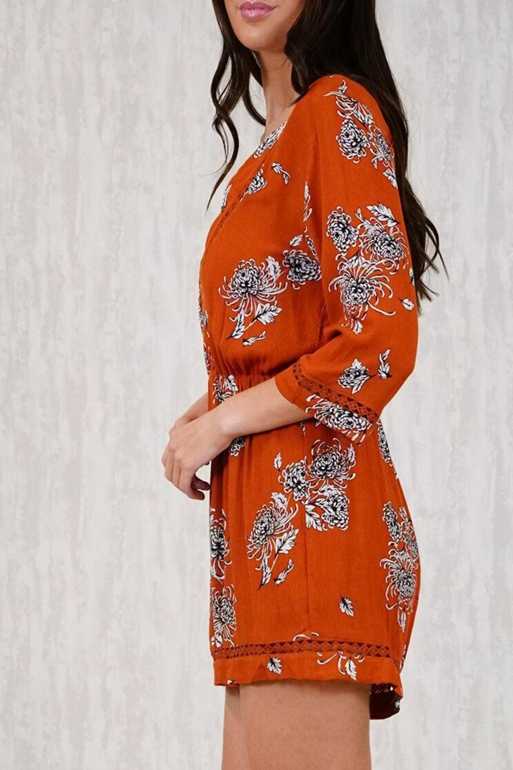 Ajoy Levora Rustic Playsuit - Front Full Image