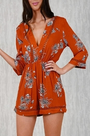 Ajoy Levora Rustic Playsuit - Product Mini Image