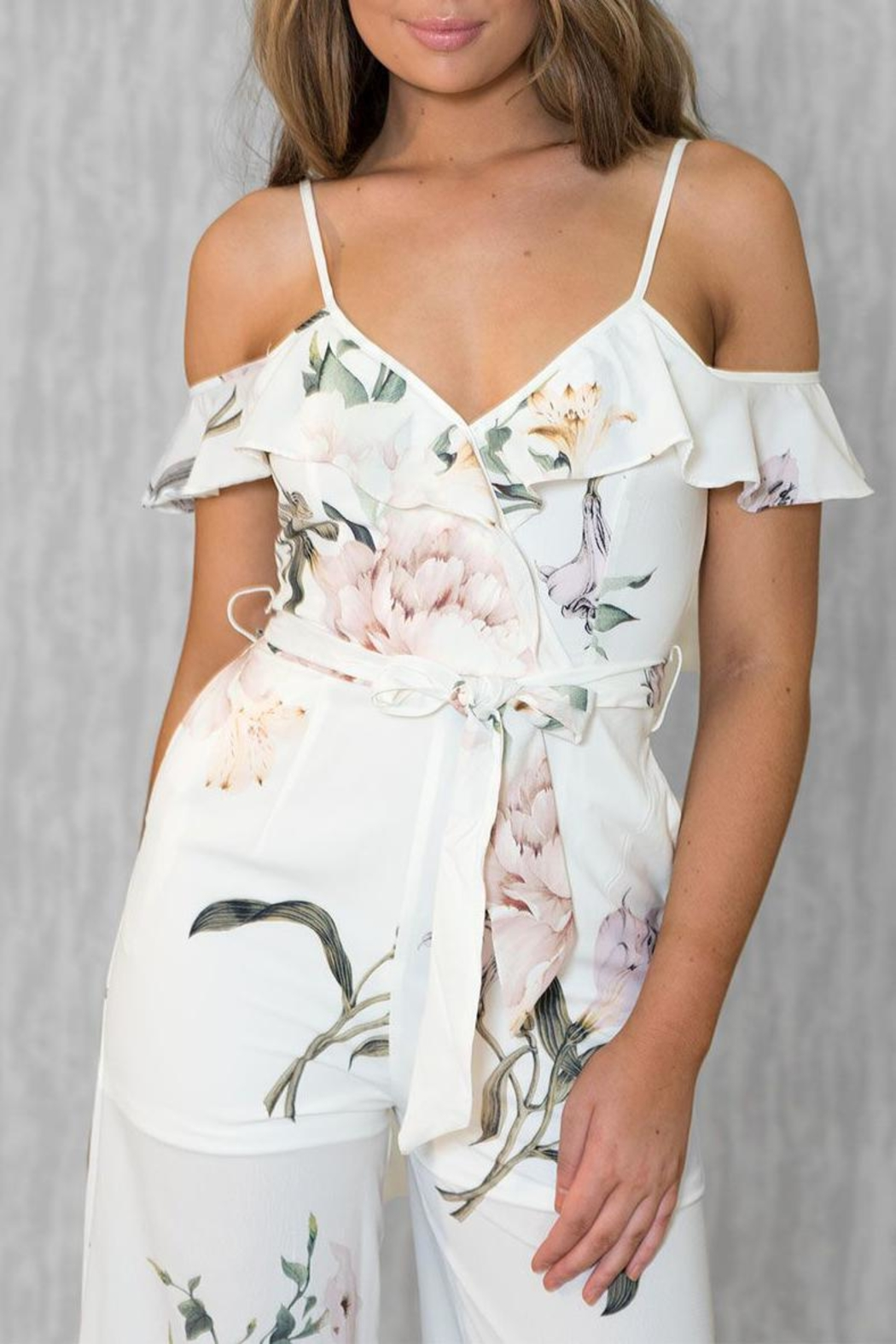 Ajoy Levora With You Jumpsuit - Back Cropped Image