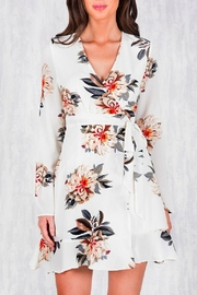 Ajoy Levora Wrap Floral Dress - Product Mini Image
