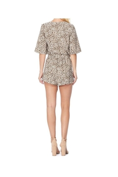 AKAIV Cheetah Print Romper - Alternate List Image