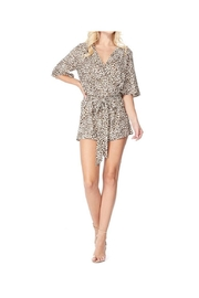 AKAIV Cheetah Print Romper - Product Mini Image