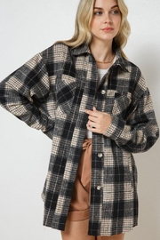 AKAIV Oversized Button Down Jacket - Product Mini Image