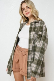 AKAIV Oversized Button Down Jacket - Side cropped