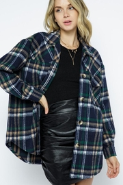 AKAIV Oversized Shirt Jacket - Front cropped