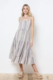 AKAIV Spaghetti Strap Tiered Sundress - Other