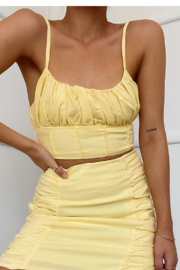 Runaway The Label Akello Top - Front full body