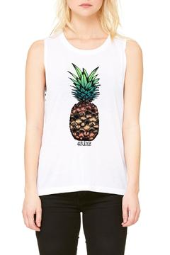 Shoptiques Product: Pineapple Muscle Tank
