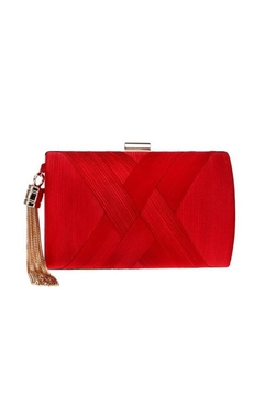 Shoptiques Product: Akisa Red Clutch