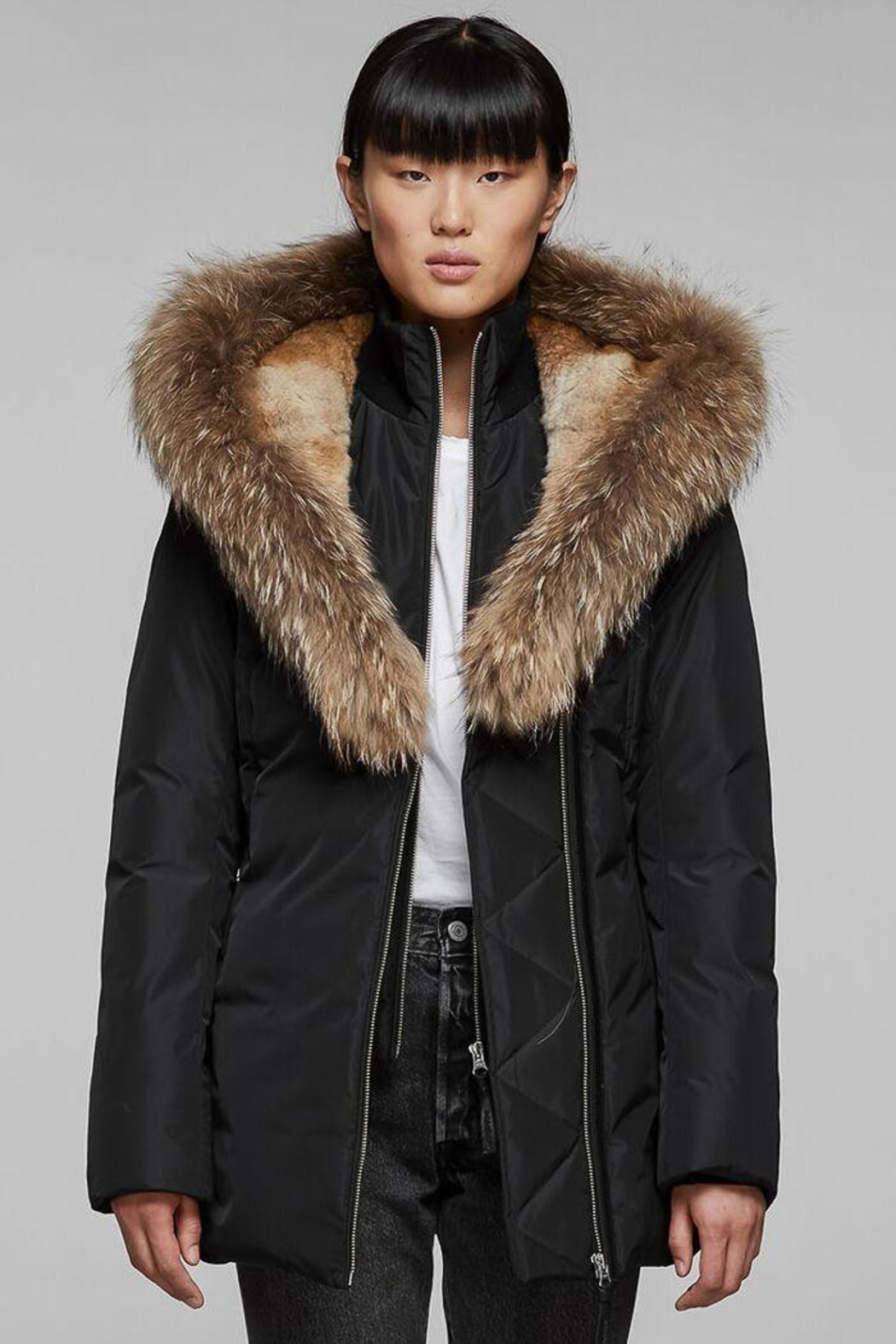 Mackage Akiva Down Coat - Front Full Image
