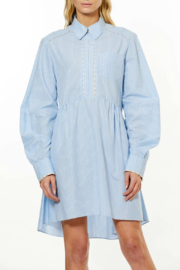 AKNVAS LONG SLEEVE COTTON SHIRT DRESS - Product Mini Image