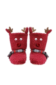 AL Boutique Cell-Phone Pocket Slippers - Front cropped