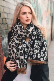 AL Boutique Leopard Blanket Scarf - Product Mini Image