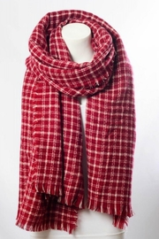 AL Boutique Red Blanket Scarf - Product Mini Image