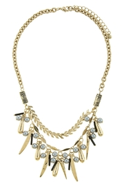 AL Boutique Spike Statement Necklace - Product Mini Image