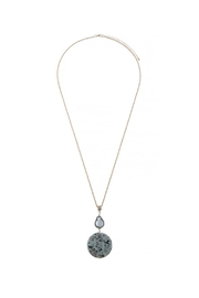 AL Boutique Stone Pearl Necklace - Product Mini Image