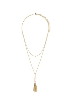 Shoptiques Product: Tassel Layered Necklace