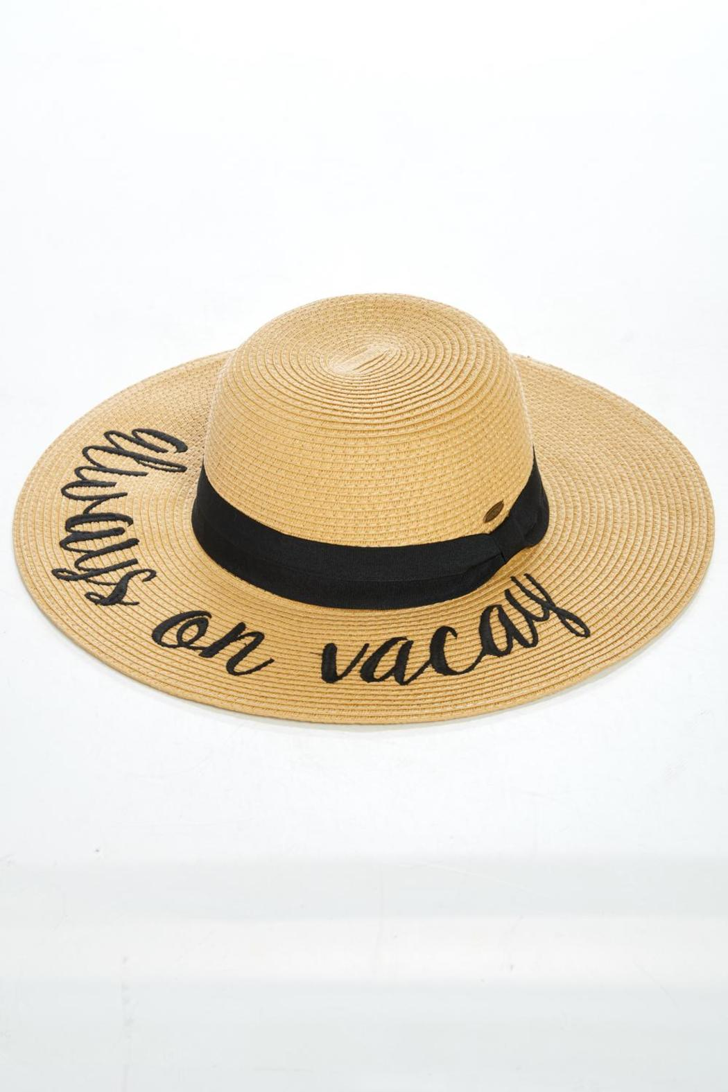 4f452d16a AL Boutique Vacation Hat Always On Vacay from Colorado by Apricot ...