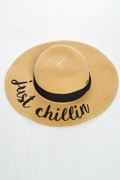 Shoptiques Product: Vacation Hat Just Chillin