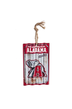 Heritage Alabama Corrugated Ornament - Alternate List Image