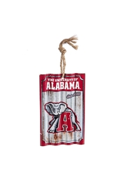 Heritage Alabama Corrugated Ornament - Product Mini Image