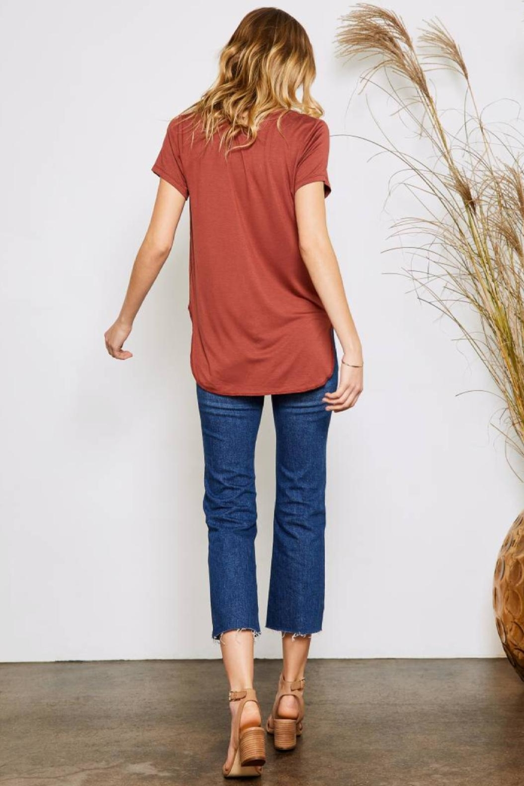 Gentle Fawn Alabama Tee - Side Cropped Image