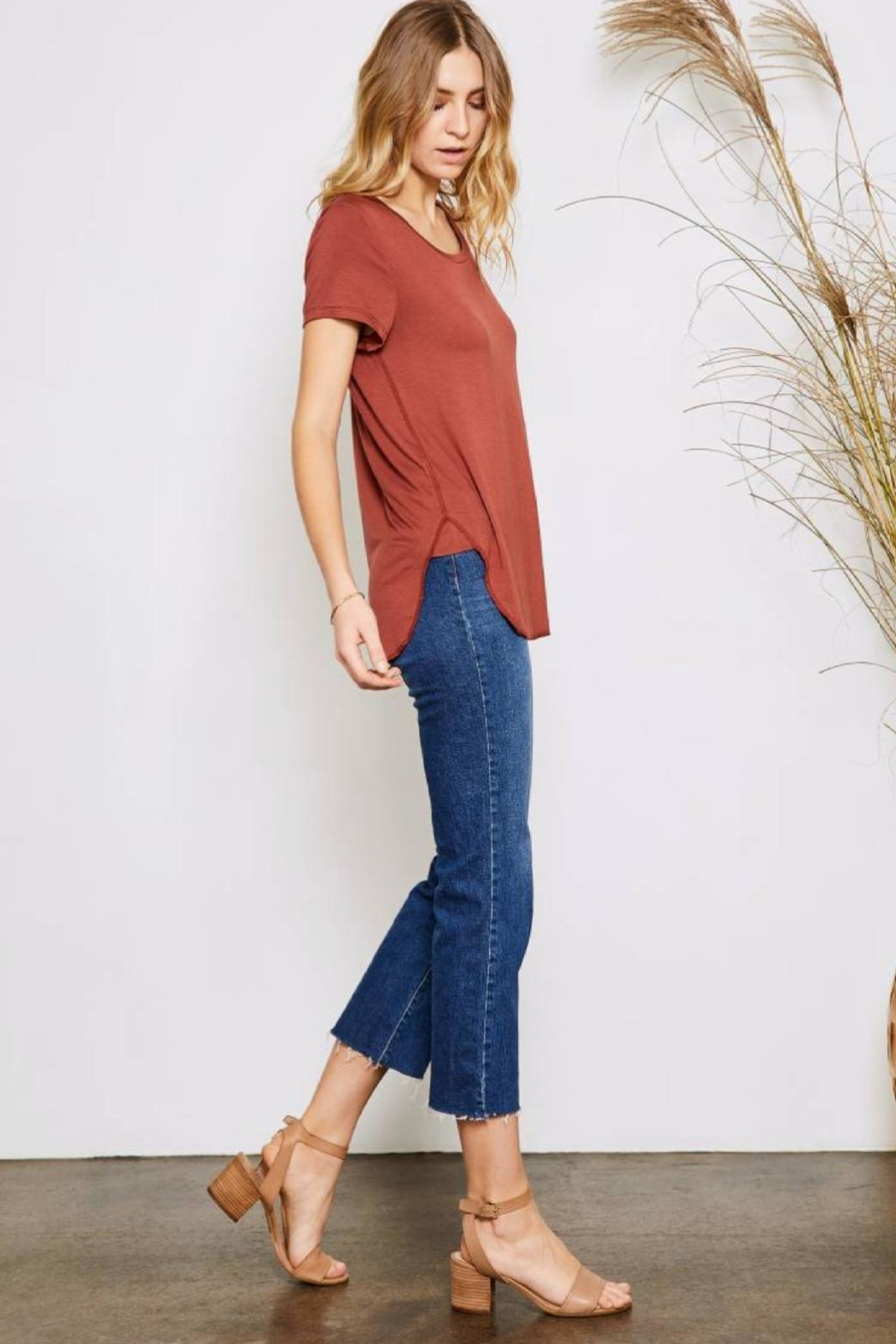 Gentle Fawn Alabama Tee - Front Full Image