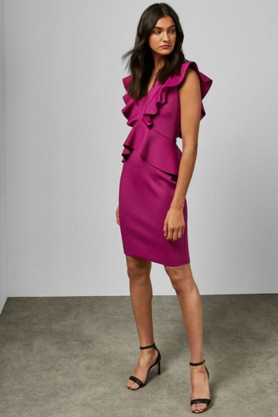 Ted Baker Alair Bodycon Dress - Side Cropped Image