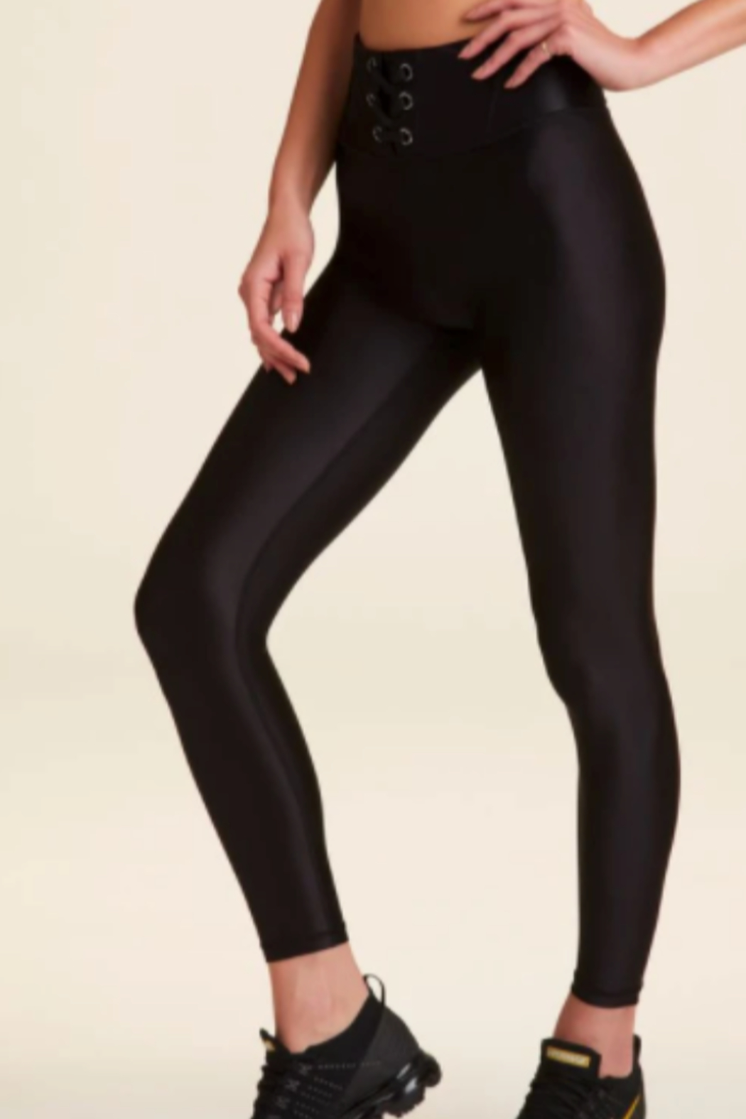 ALALA Alala Lace Up Legging - Side Cropped Image