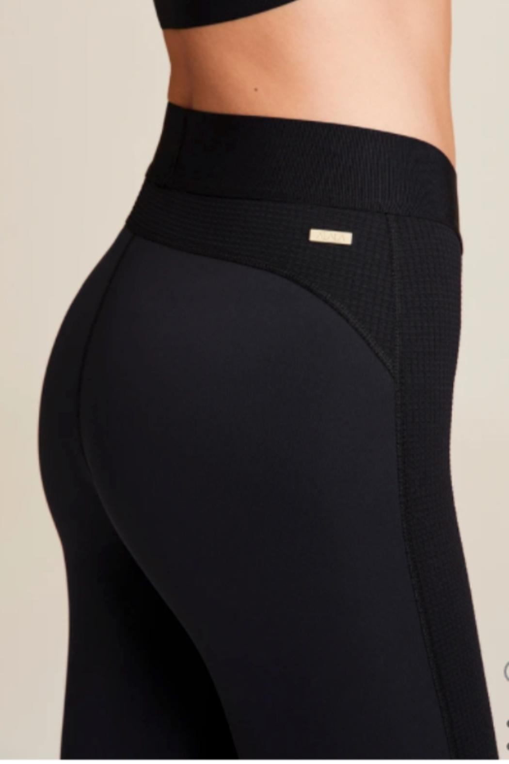 Alaia Thermal Texture Legging - Side Cropped Image