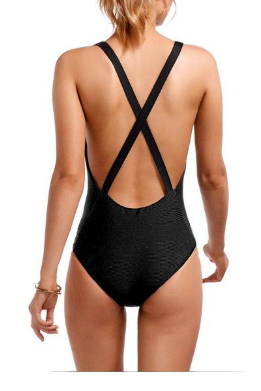 Vitamin A Alana One-Piece Bodysuit - Front Full Image