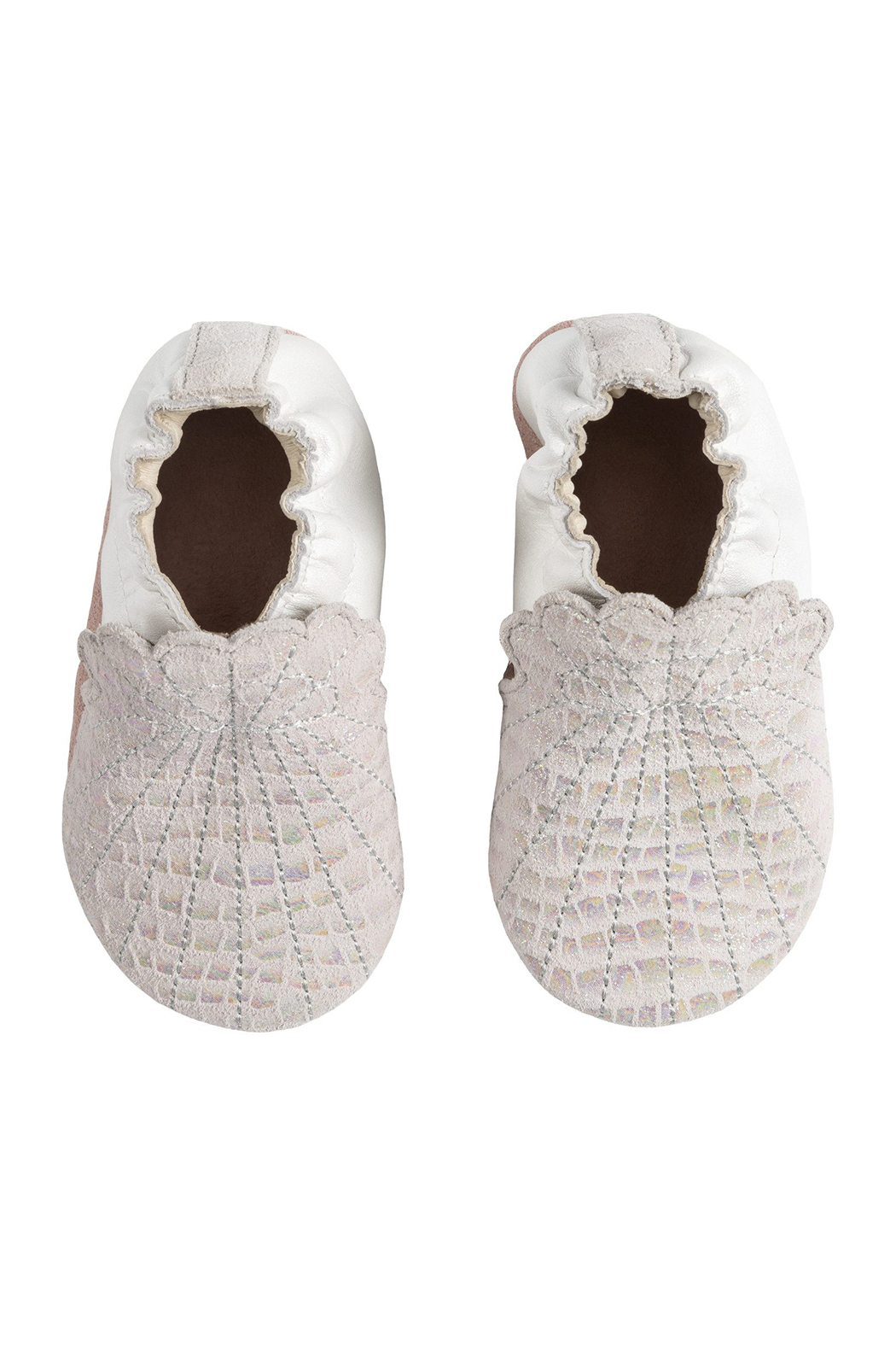 Robeez Alana Soft Soles Baby Shoes - Front Full Image