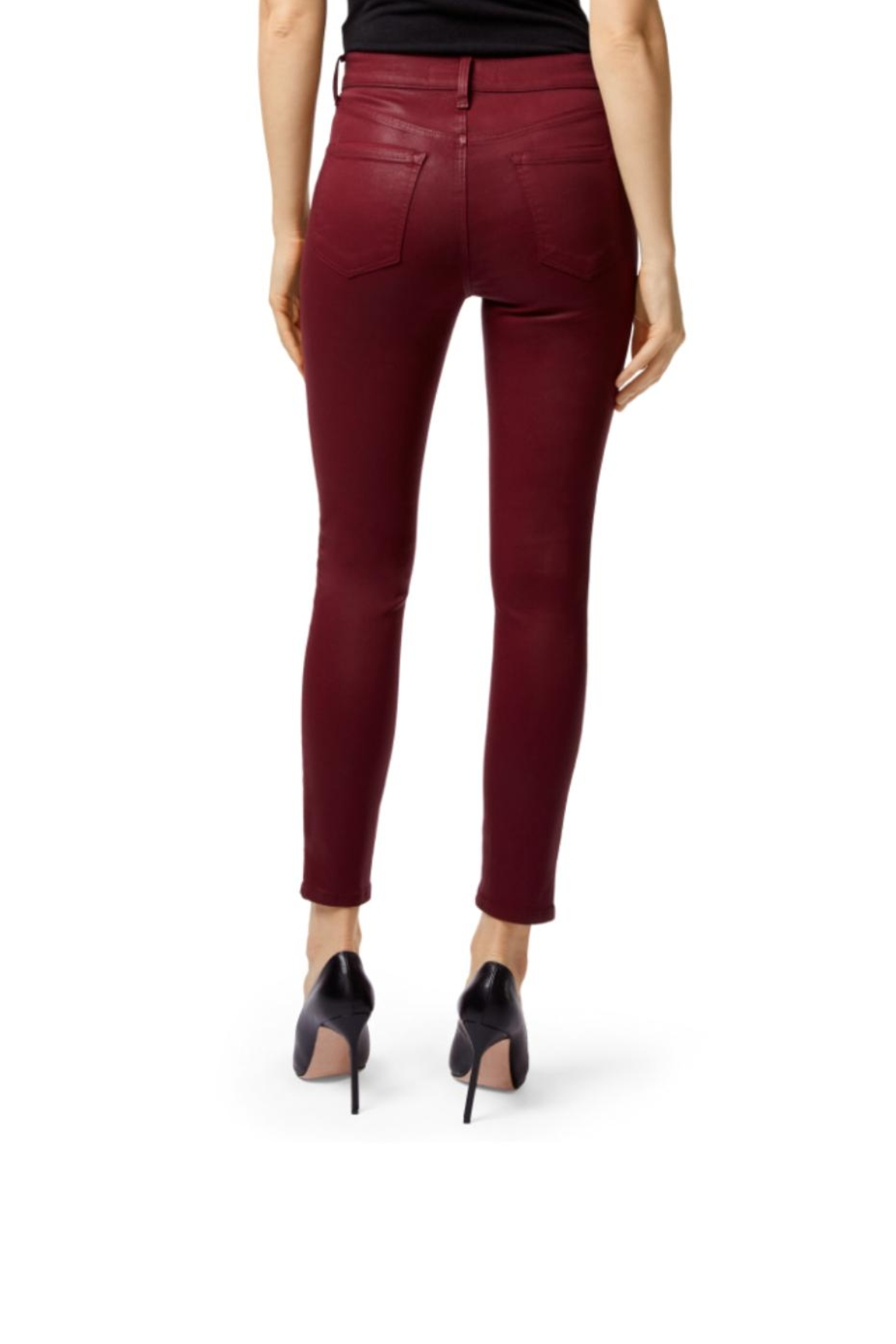 J Brand  Alanna High-Rise Cropped - Front Full Image