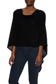 Alashan Cashmere  Cashmere Poncho - Front cropped