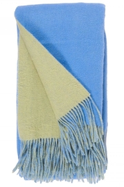 Alashan Cashmere  Wool & Cashmere Throw - Front cropped