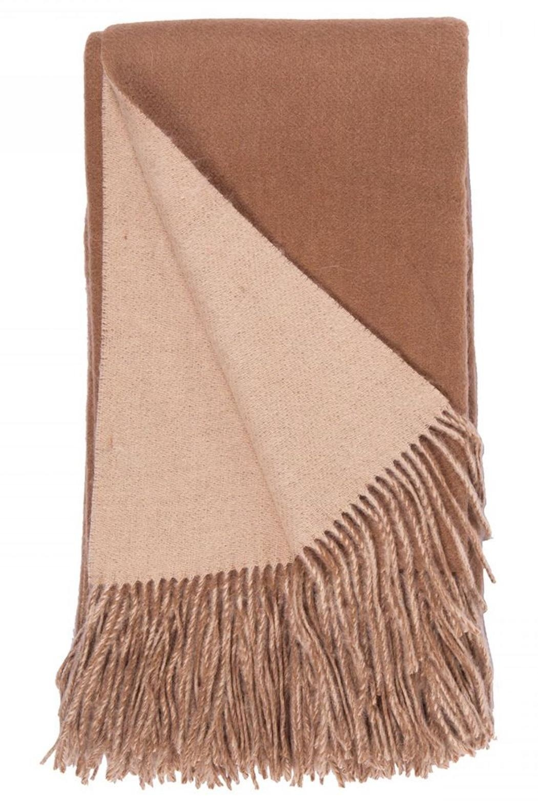 Alashan Cashmere  Wool & Cashmere Throw - Front Cropped Image