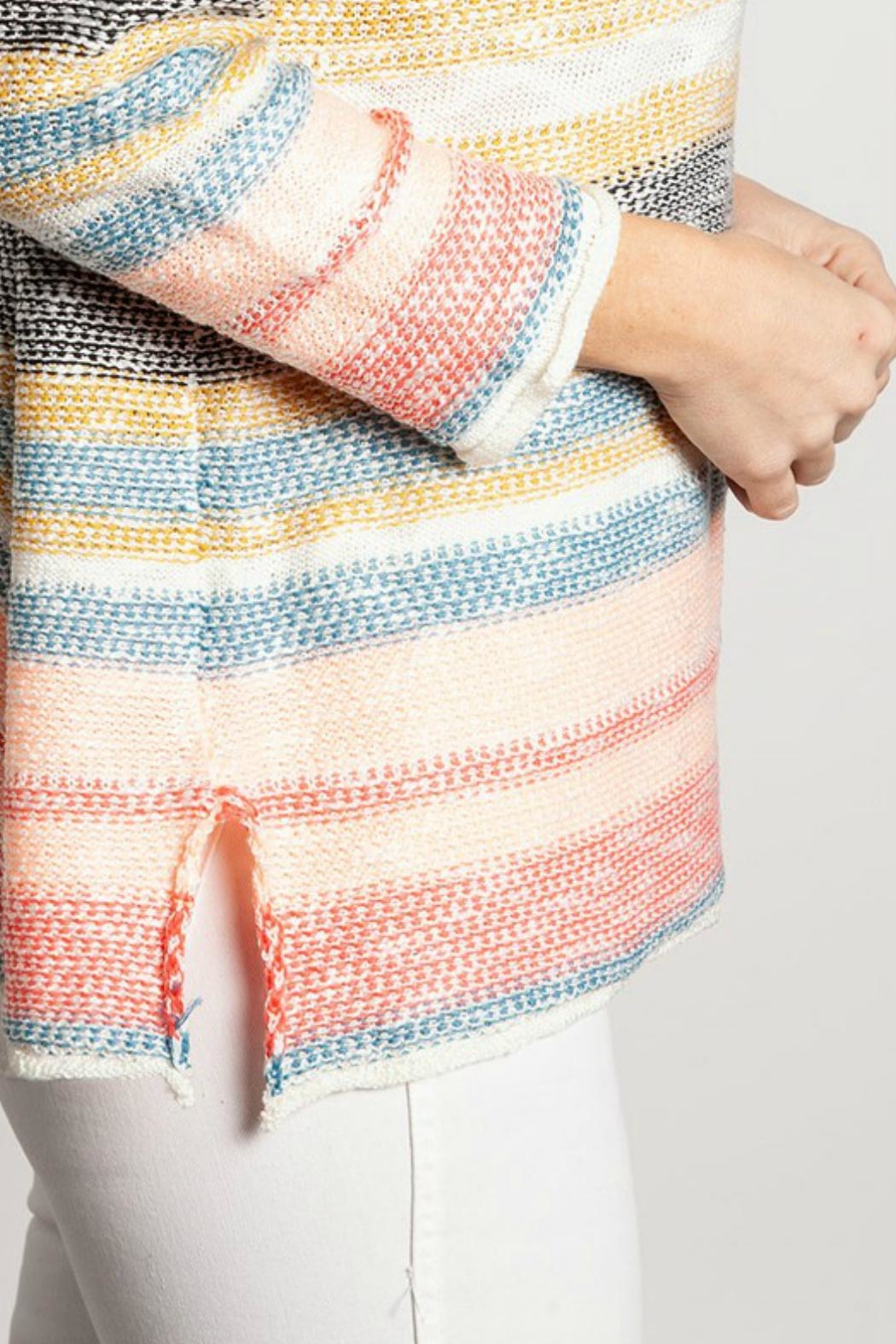 ALB Anchorage Beachy Pastel Sweater - Back Cropped Image
