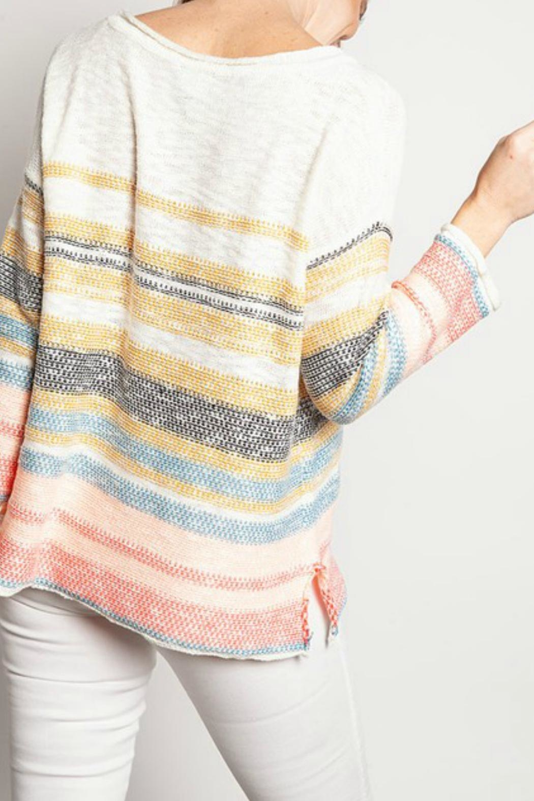 ALB Anchorage Beachy Pastel Sweater - Front Full Image