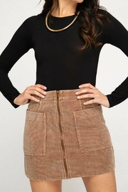 ALB Anchorage Corduroy Mini Skirt - Product Mini Image