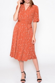 ALB Anchorage Floral Waist Tie Dress - Product Mini Image