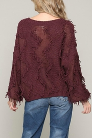 ALB Anchorage Fringe Pullover Sweater - Front full body