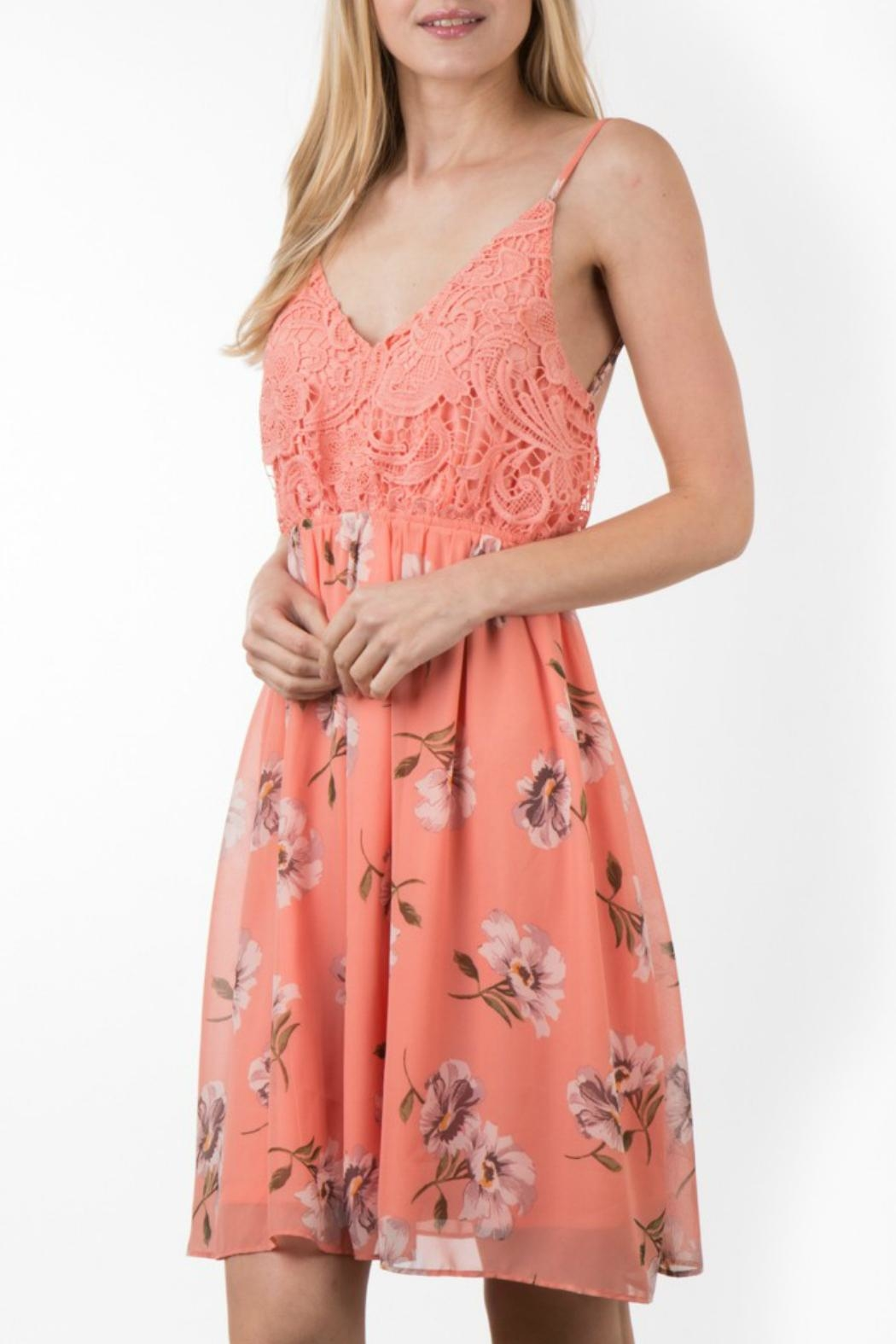 ALB Anchorage Open-Back Floral Dress - Main Image