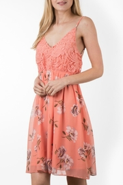ALB Anchorage Open-Back Floral Dress - Product Mini Image